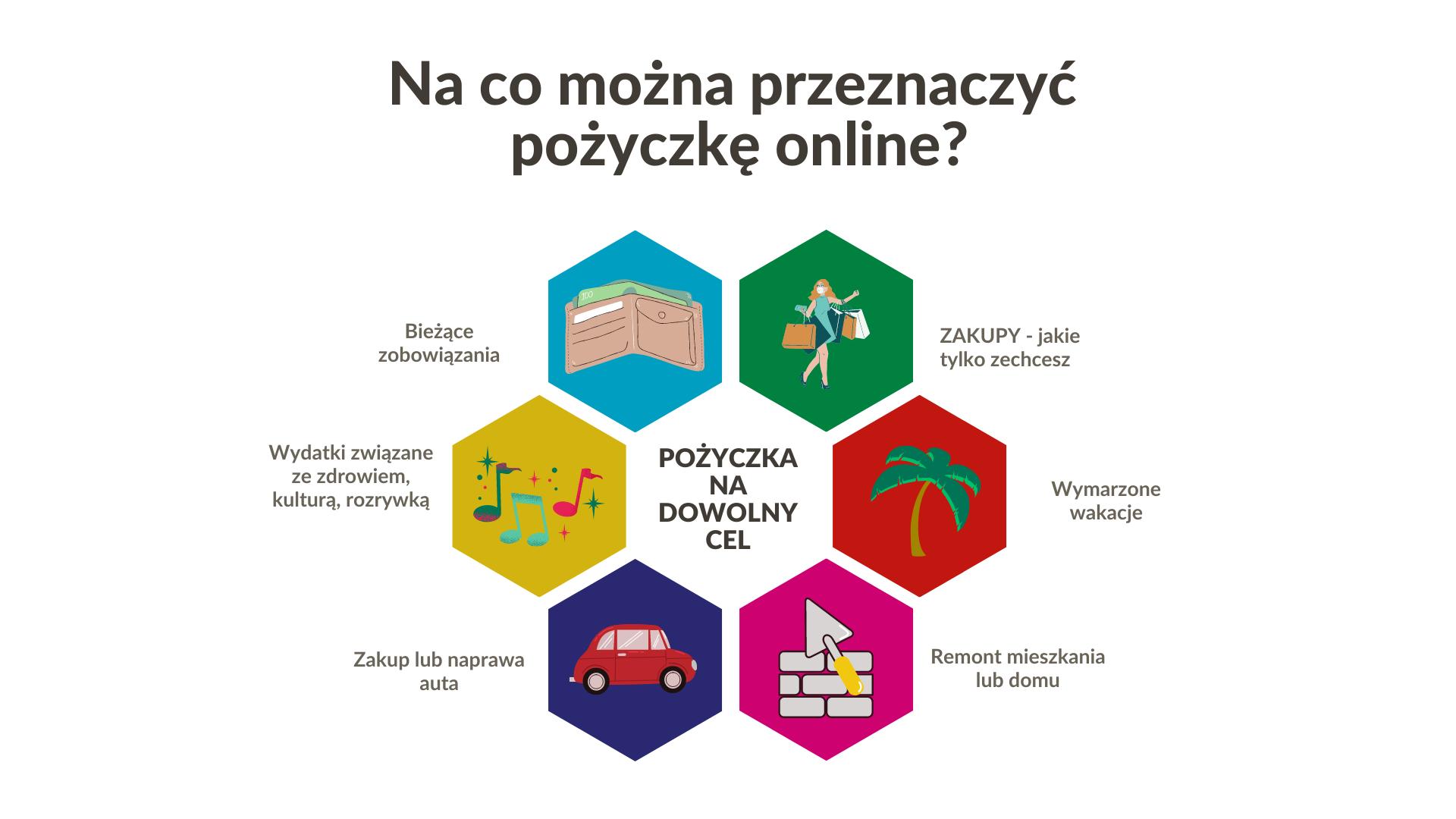 Na co można przeznaczyć pożyczkę online